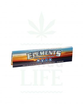 aus Reis ELEMENTS 'Ultra thin rice paper' King Size Slim | 32 Blatt