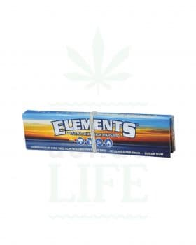 aus Reis ELEMENTS 'Ultra thin rice paper' King Size Slim + Tips | 33 Blatt