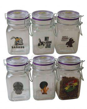 Aufbewahrung JUICY JAY Glasbehälter | L