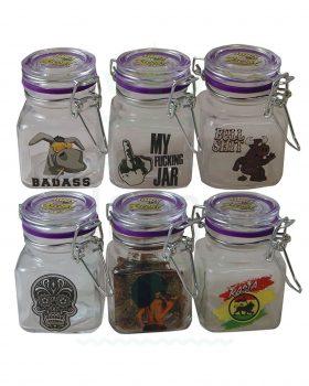 Aufbewahrung JUICY JAY Glasbehälter | S