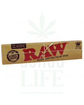 Beliebte Marken RAW Classic Papers King Size Slim | 32 Blatt