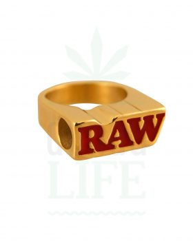Beliebte Marken RAW Smoking Ring Gold