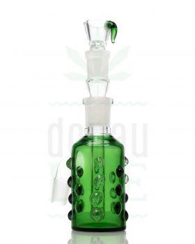 18,8 mm GRACE GLASS Vorkühler Amsterdam Series 'Pickle' grün | 18,8>18,8mm
