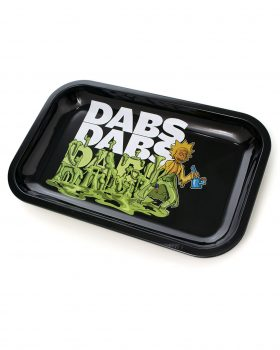 aus Metall Rolling Tray | 'Dabs, Dabs, Dabs'