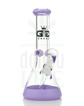 Beaker Bongs GRACE GLASS Micro Beaker Series 'Lilac' | 30 cm