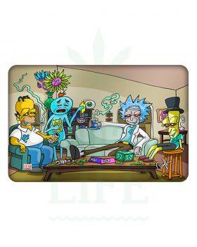 Dab Matten DUNKEES Dab Matte Silikon | 'Rick & Homer'