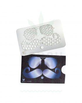Grinder V SYNDICATE Grinder Card 'Moustache' | Kreditkarten Format