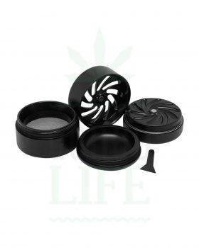 4-teilig MASTER GRINDER Aluminium 'TMG' 4-teilig | Ø 50 mm
