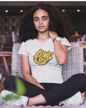 Fashion DONAULIFE T-Shirt 'smoke' | weiss