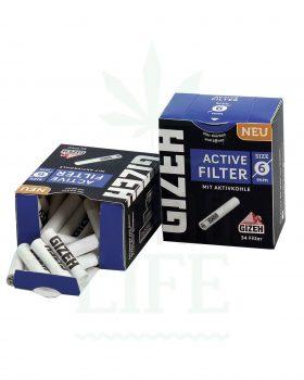 Aktivkohlefilter GIZEH Aktivkohlefilter 6 mm | 34 Filter