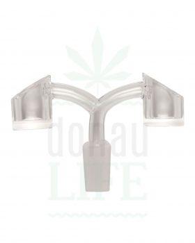 Dab Nails Quartz Double Banger | 14,5 mm männlich