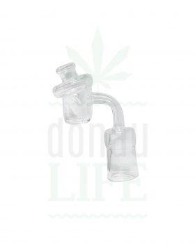 Dabbing Quartz Banger & Airflow Cap | 18,8 mm weiblich