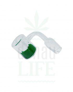 Dabbing Quartz Thermal Banger grün | 18,8 mm männlich