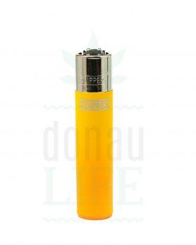 Anzünder CLIPPER Bong Feuerzeug 'Color'   Gelb