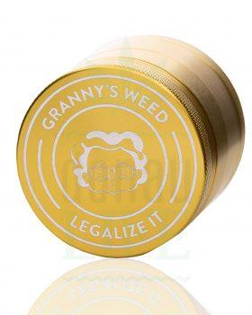 4-teilig GRANNYSWEED Grinder 4-teilig gold | Ø 55 mm
