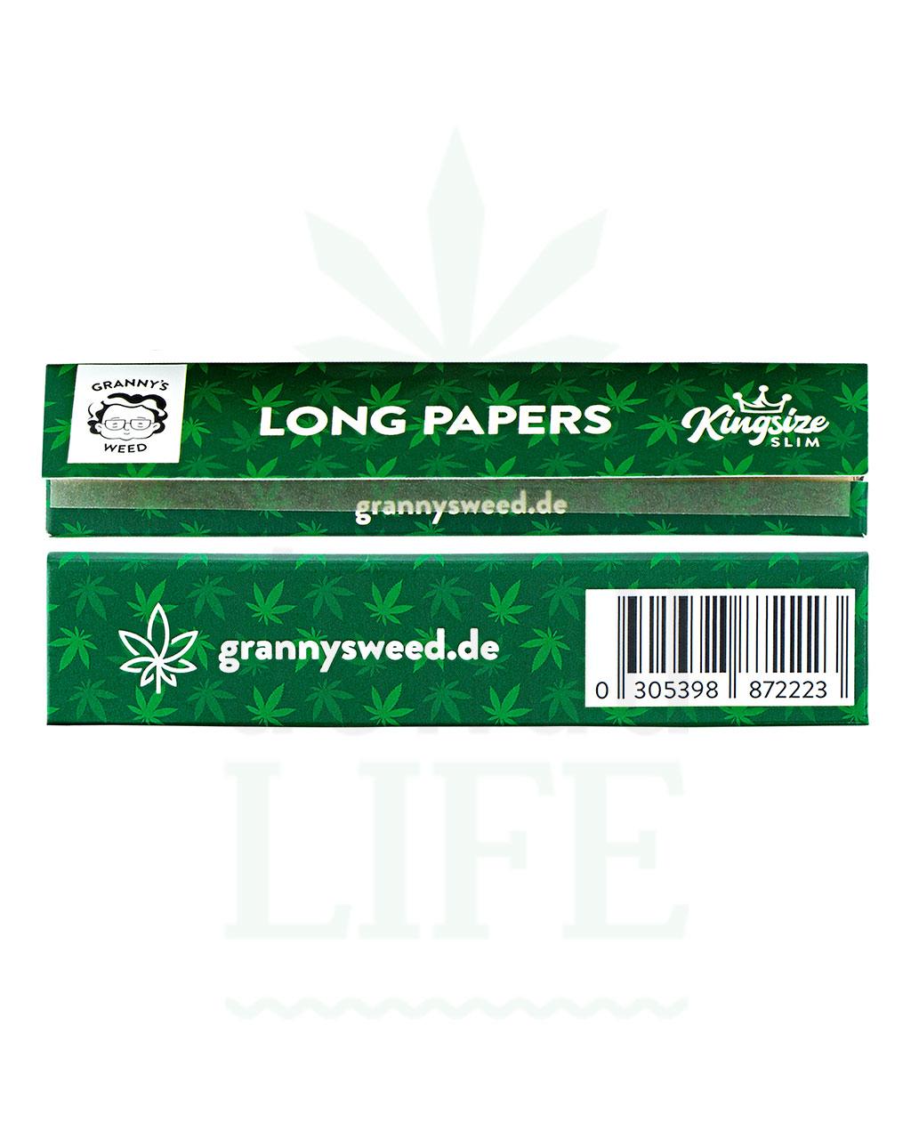 Beliebte Marken GRANNYS WEED Papers Kingsize | 32 Blatt