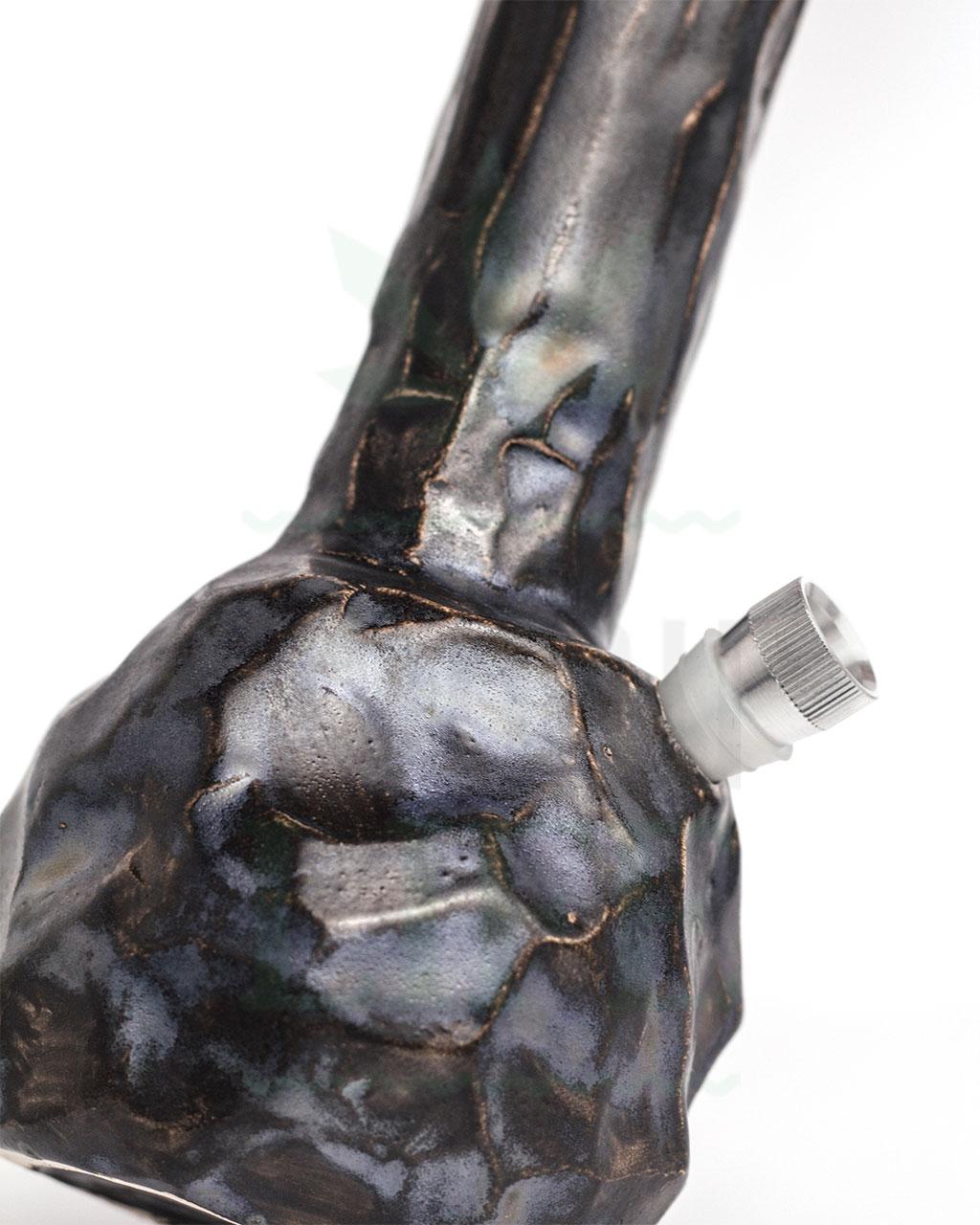 Bong Shop KERRA BONGS 'Obsidian Stone' | 26 cm