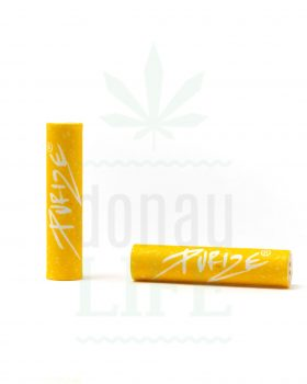 Aktivkohlefilter PURIZE® XTRASlim Aktivkohlefilter 50 Stück | Yellow Edition