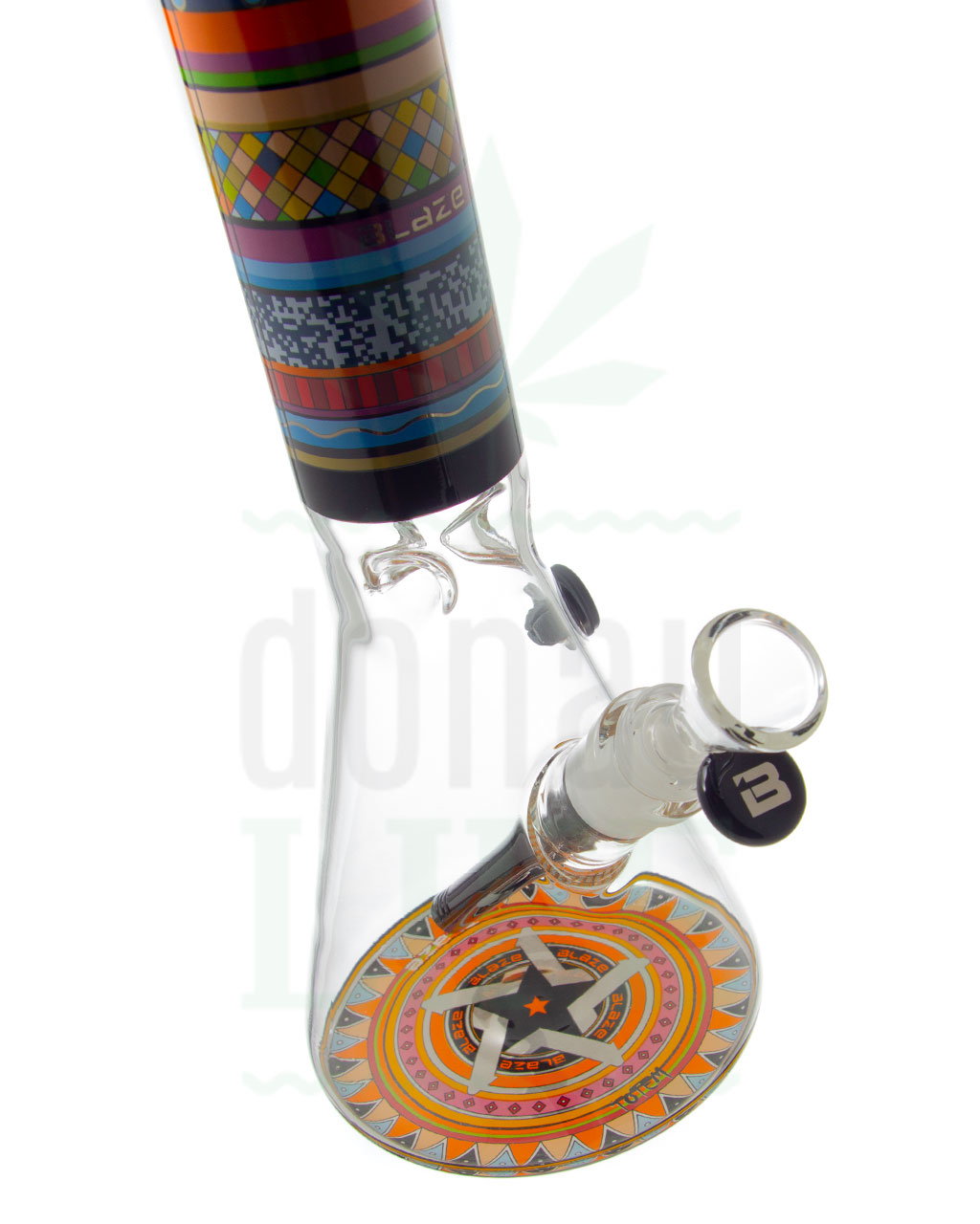 Beaker Bongs BLAZE GLASS Beakerbong 'Totem' | 37,5 cm