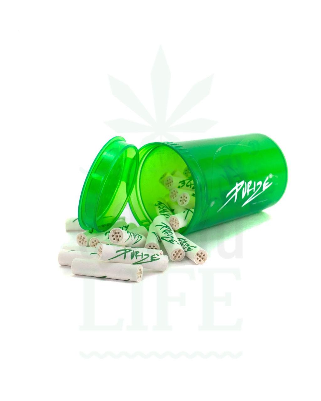 Aktivkohlefilter PURIZE® XTRASlim Aktivkohlefilter + Pop Up Bottle | 33 Stück