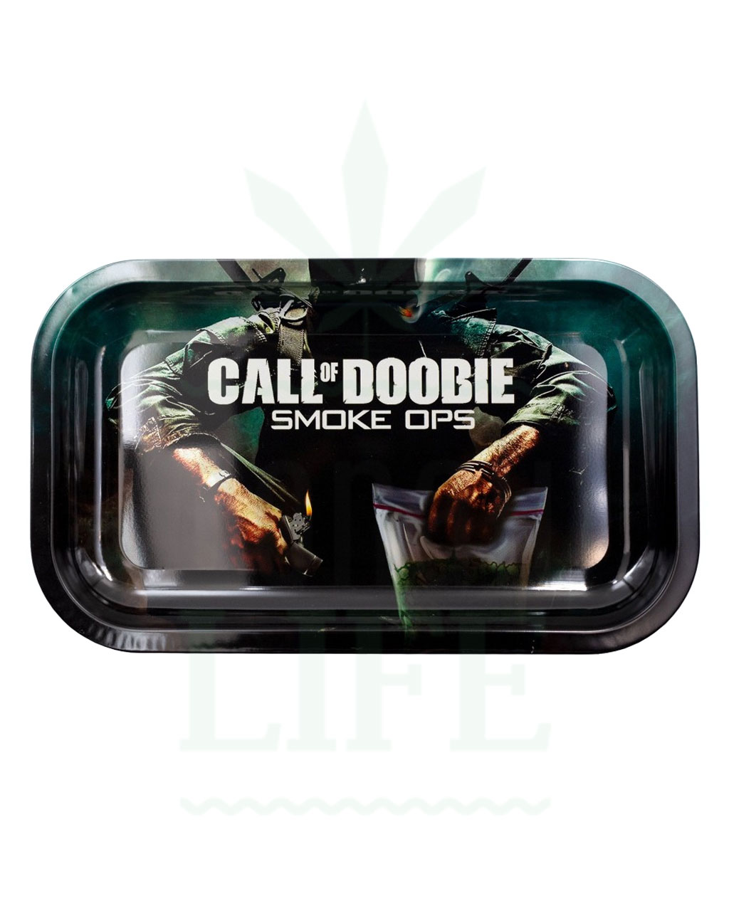 aus Metall V SYNDICATE Rolling Tray | 'Call of Doobie: Smoke Ops'
