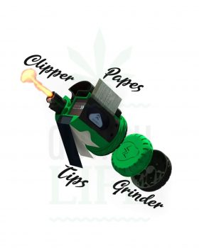 Aufbewahrung THE HERB KIT Endlesspapers + Tips + Grinder + Feuer | All in 1 Kit