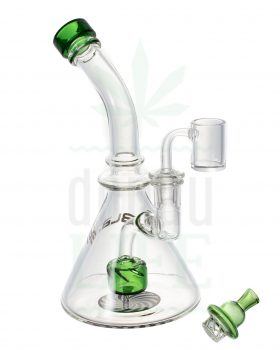 aus Glas BLAZE GLASS Recycler 'little boy' | 22 cm