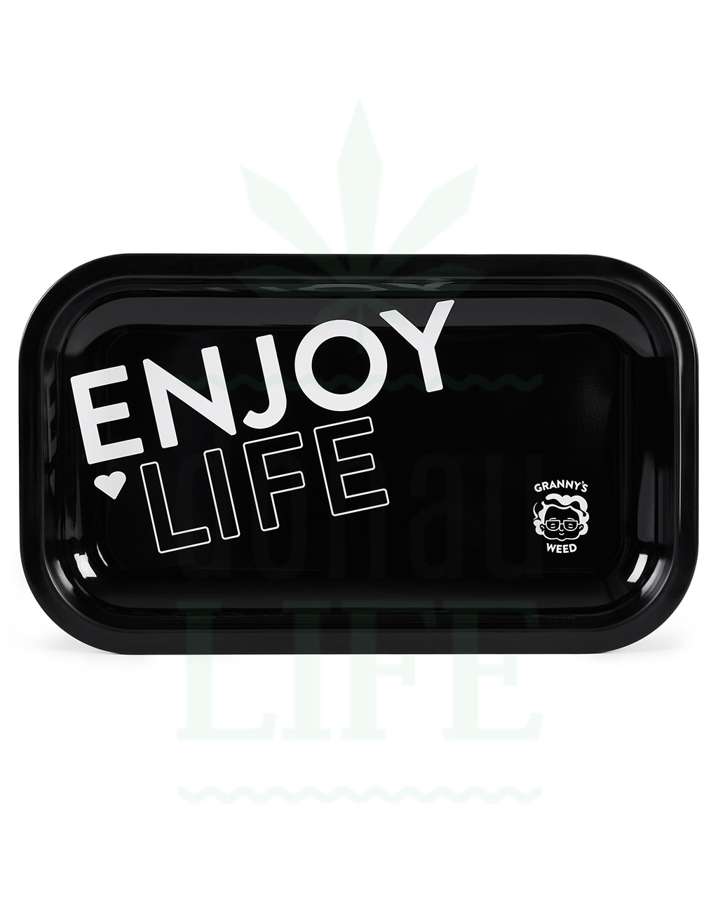 aus Metall GRANNY´S WEED Rolling Tray | 'Enjoy Life'