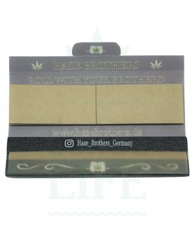 Beliebte Marken HAZE BROTHERS KSS Papers + Tips | 33 Blatt