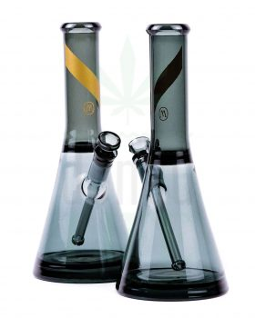 aus Glas MARLEY NATURAL Glasbong 'Smoked Glass' | 31 cm