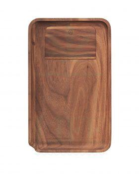 aus Holz MARLEY NATURAL Rolling Tray Wallnuss | S