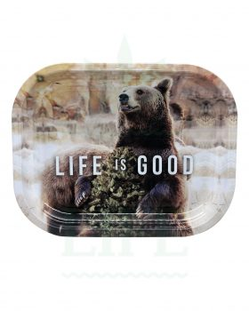 aus Metall NV Grinder Rolling Tray | 'Life is Good'