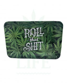 aus Metall NV Grinder Rolling Tray | 'Roll that Shit'