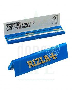 Beliebte Marken RIZLA+ 'Blue' KSS Papers | 32 Blatt