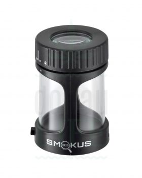 Aufbewahrung SMOKUS FOCUS Dose mit LED und Lupe | 75 ml