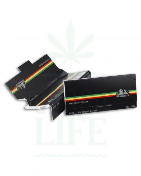 Headshop ZIGGI Classic KSS Papers + Tips 'Rasta Stripe' | 32 Blatt