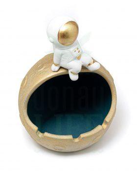 Aschenbecher Keramik Aschenbecher 'To the Moon' | Ø 14 cm
