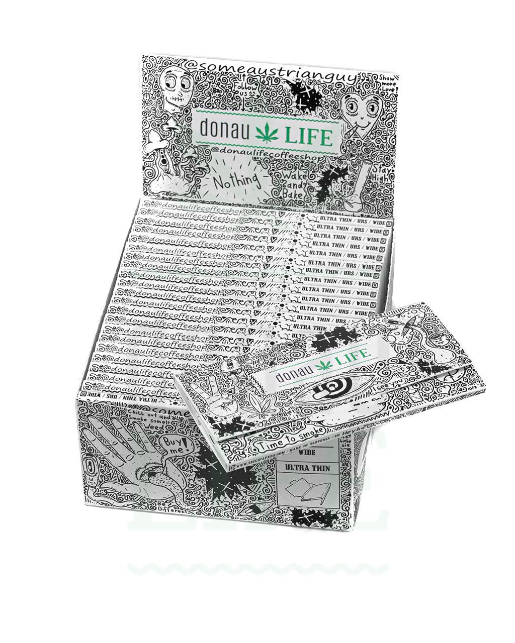 Headshop DONAULIFE KSS Papers + Tips 'Time to smoke' | 32 Blatt