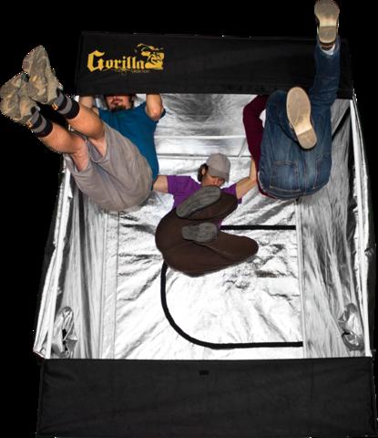 Gorilla Grow GORILLA GROW TENT 'GGT88' Zucht Zelt | 244 x 244 x 210/240 cm