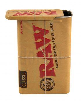 Aufbewahrung RAW Papers Metallbox 'Slide' | 11,5 x 6,3 cm