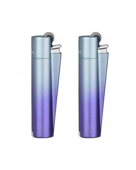 Anzünder CLIPPER Micro Metall Feuerzeug 'blue ocean'