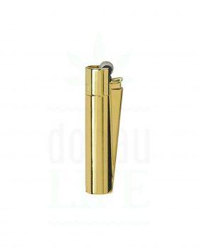 Headshop CLIPPER Metall Feuerzeug 'Gold Standard'