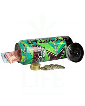 Aufbewahrung PLASTIC FANTASTIC Versteckdose Energy Drink