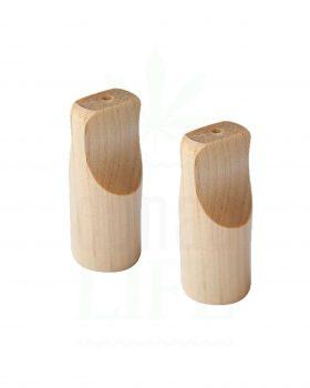 Beliebte Marken PURPLE ROSE Bambus Mundstücke 2 Stück | 3,5 cm