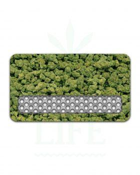 Edelstahl Grinder V SYNDICATE Grinder Card 'Buds' | Kreditkarten Format