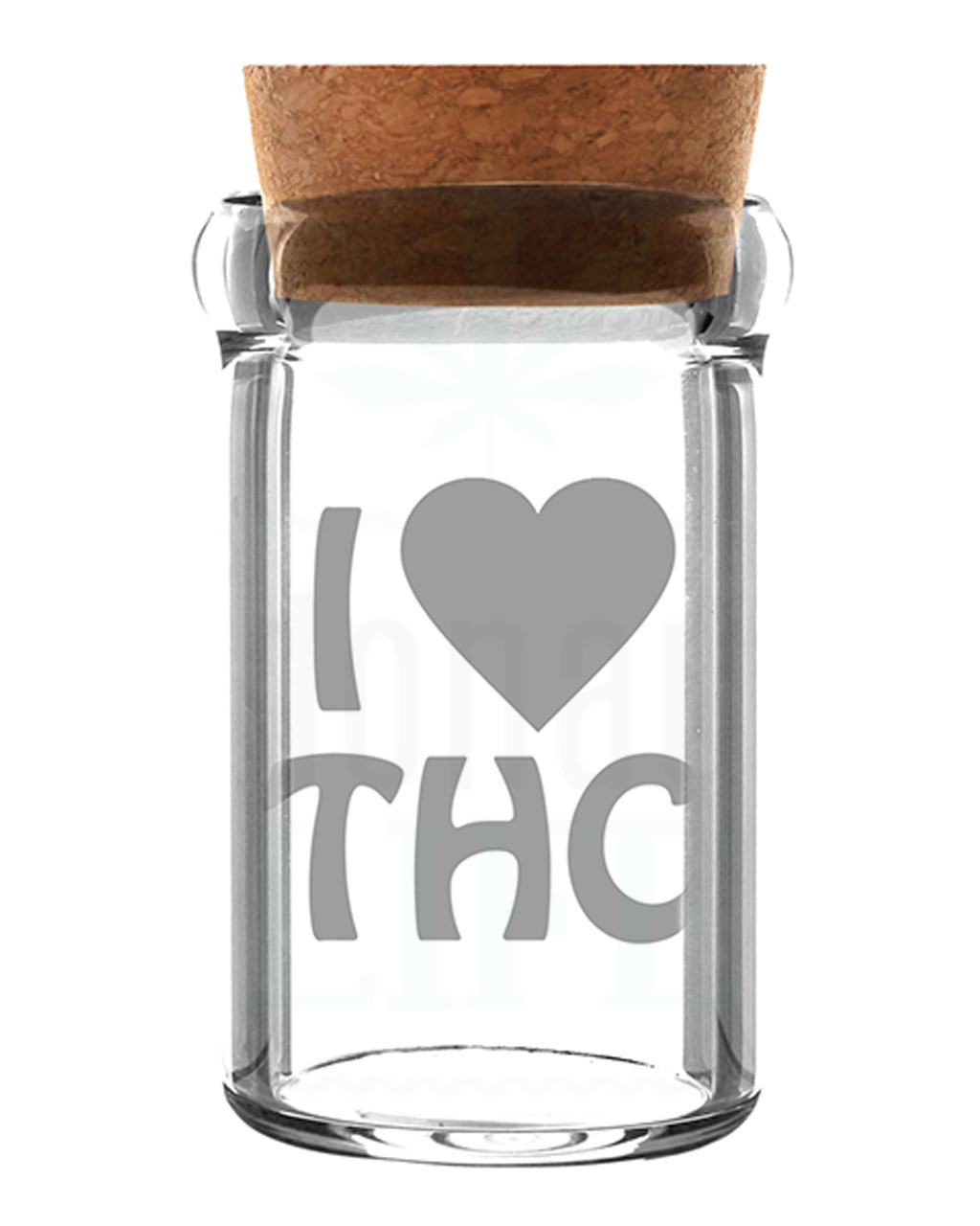 Aufbewahrung WEEDJAR Glasdose mit Korkverschluss | 135 ml