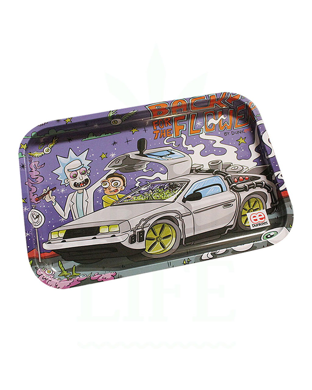 aus Metall DUNKEES Rolling Tray | 'Back to the Flower'