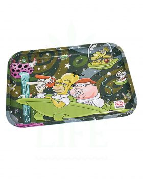 aus Metall DUNKEES Rolling Tray | 'Dad´s night out'