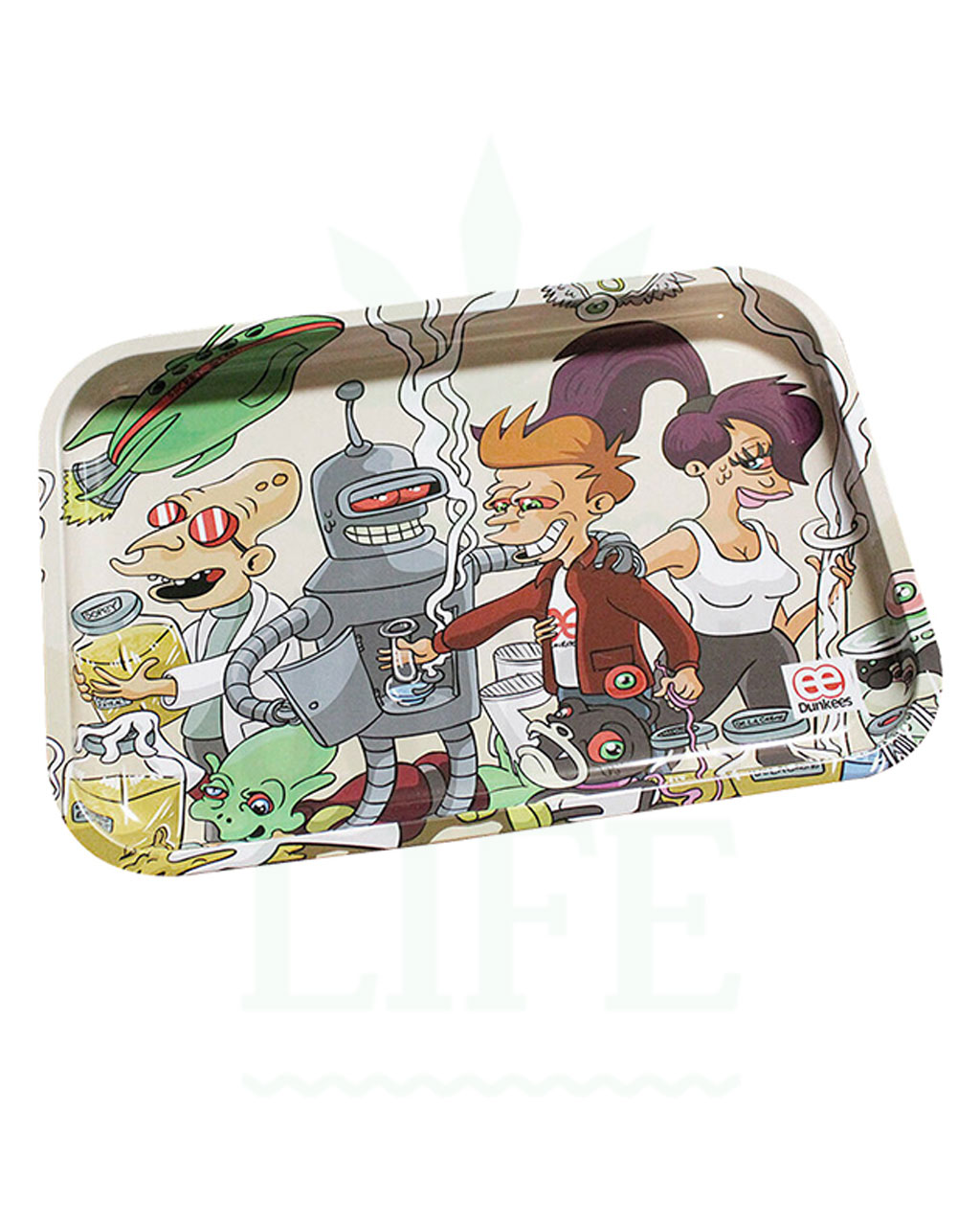 aus Metall DUNKEES Rolling Tray | 'Special delivery'