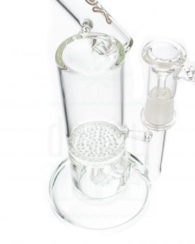 aus Glas D-LUX Bubbler 'Honey Oil' | 25 cm